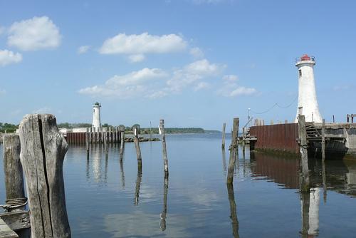 Alsen - Hafen mit Leuchtturm
