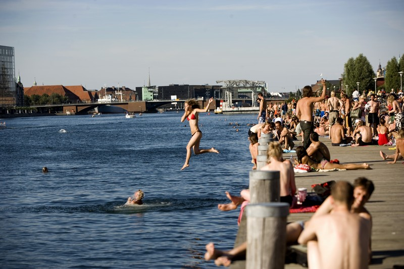 Baden an der Islands Brygge