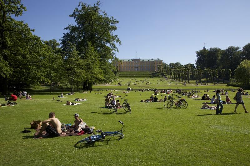 Frederiksberg Schloss und Garten