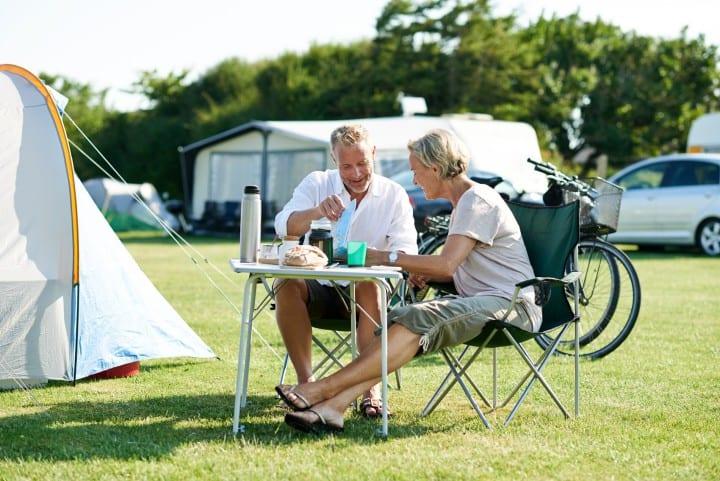 Camping in Dänemark