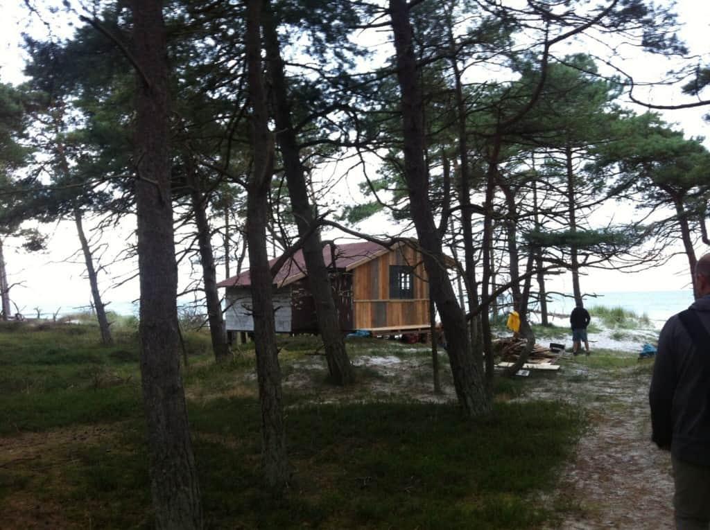Haus Schweigeminute Vogelinsel Bornholm