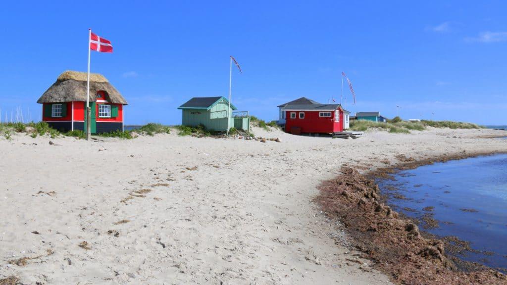 Strandhaus auf Fünen