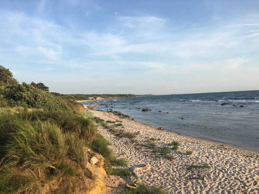 Hasle beach