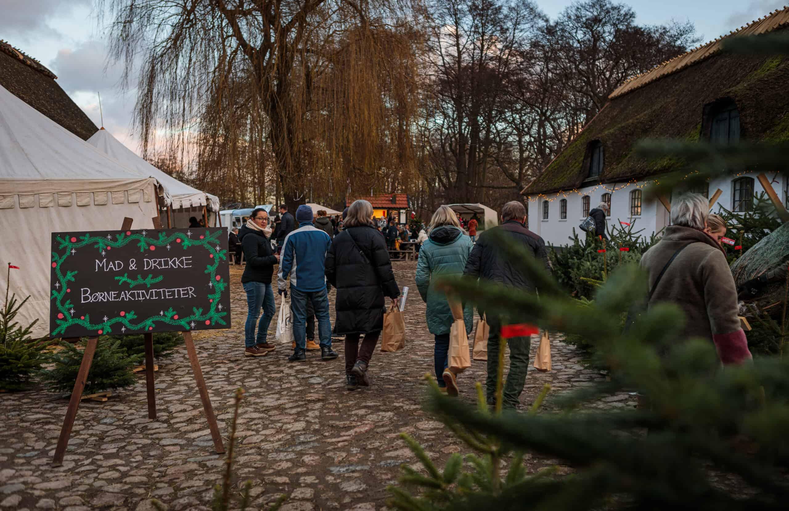 Weihnachtsmarkt in Dänemark