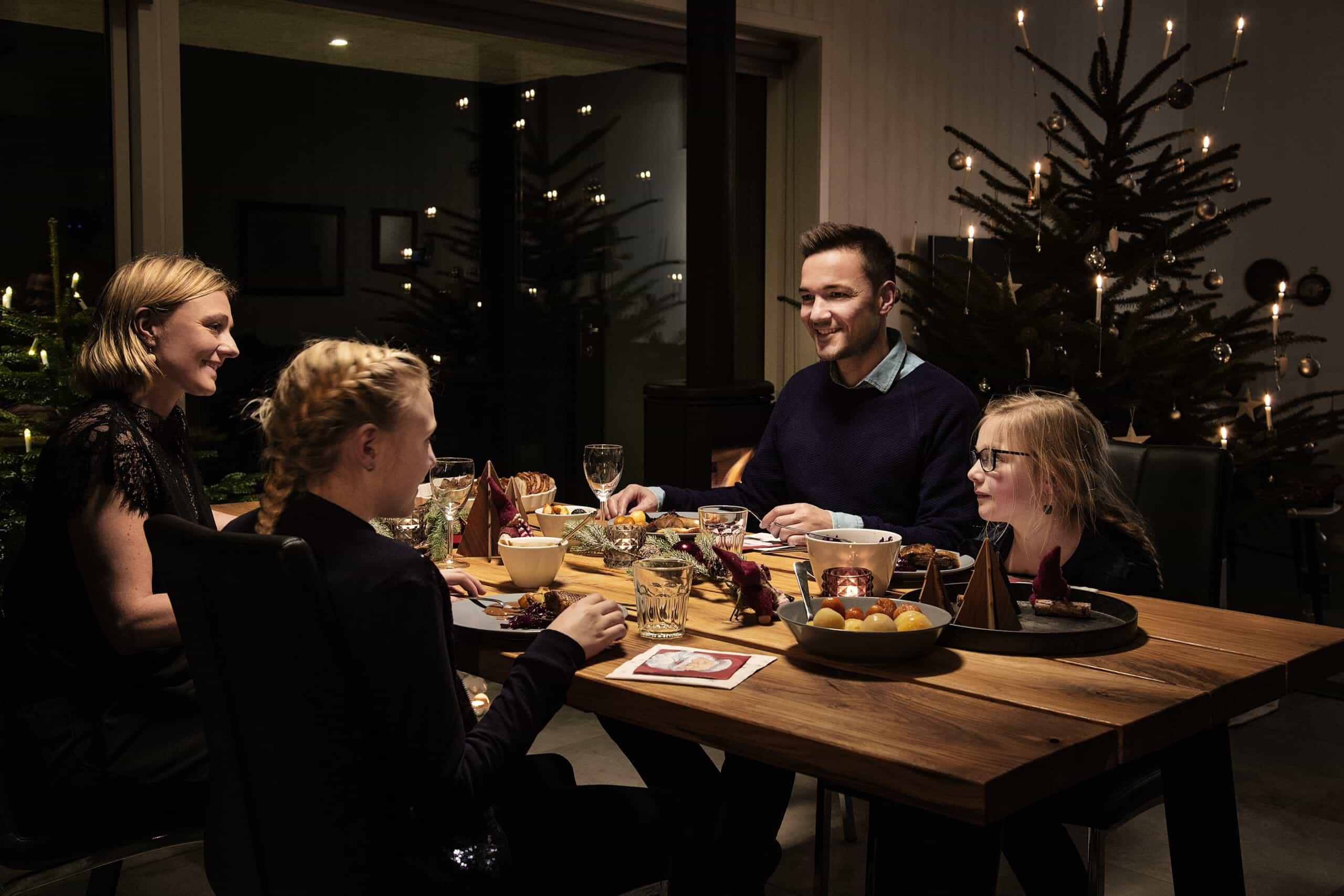 Weihnachten im Ferienhaus in Hvide Sande