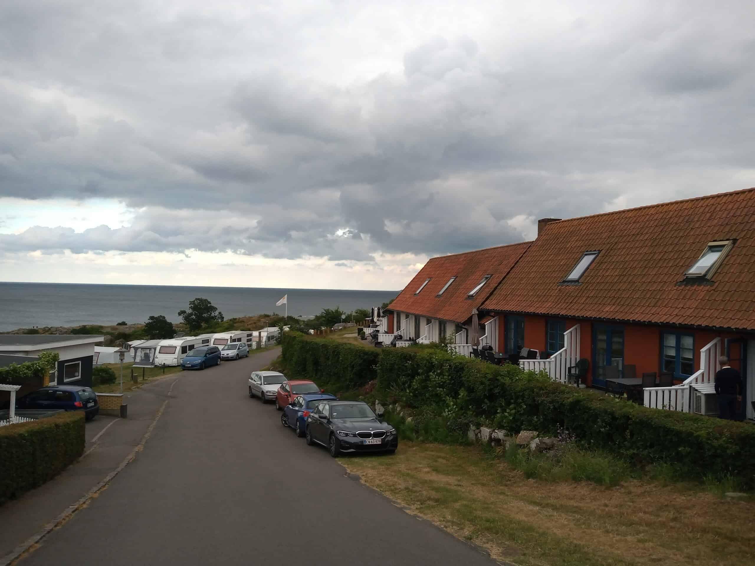 Ferienhäuser und Campinplatz bei Gudhjem